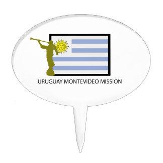 CTR DE URUGUAY MONTEVIDEO LDS DECORACIONES PARA TARTAS