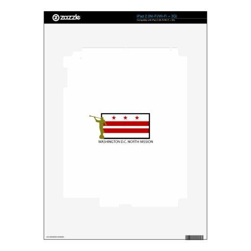 CTR DE WASHINGTON D.C. NORTH MISSION LDS CALCOMANÍA PARA iPad 2