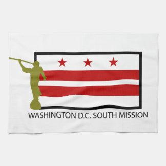 CTR DE WASHINGTON D.C. SOUTH MISSION LDS TOALLAS