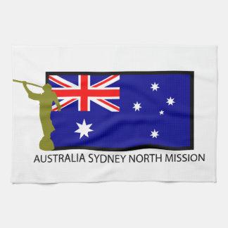 CTR DEL NORTE DE LA MISIÓN LDS DE AUSTRALIA SYDNEY TOALLA