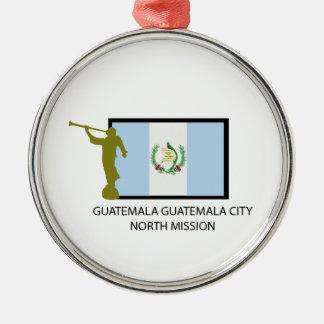 CTR DEL NORTE DE LA MISIÓN LDS DE GUATEMALA CIUDAD ORNAMENTO DE NAVIDAD