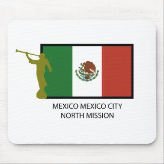 CTR DEL NORTE DE LA MISIÓN LDS DE MÉXICO CIUDAD DE TAPETE DE RATON