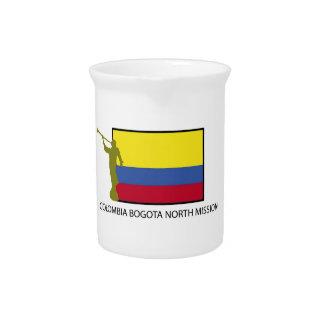 CTR del norte LDS de la misión de Colombia Bogotá Jarra De Beber