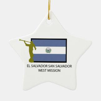CTR DEL OESTE DE LA MISIÓN LDS DEL SALVADOR SAN SA ORNAMENTOS DE REYES