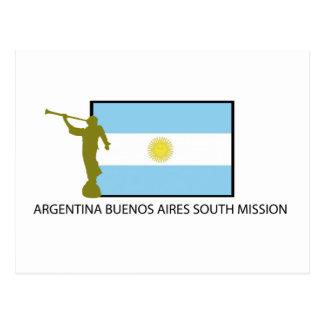 CTR DEL SUR BYU DE LA MISIÓN LDS DE LA ARGENTINA POSTAL