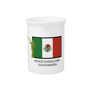 CTR DEL SUR DE LA MISIÓN LDS DE MÉXICO GUADALAJARA JARRA DE BEBER