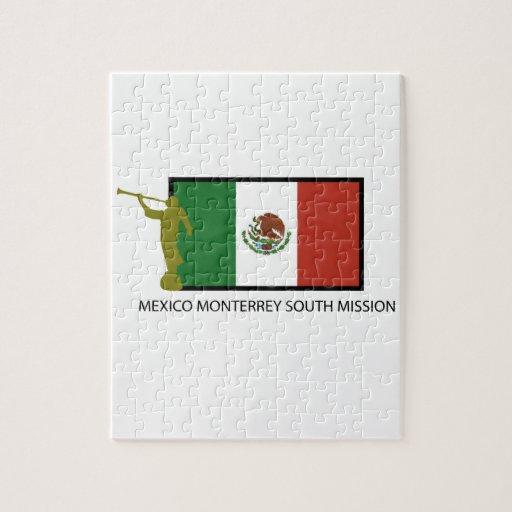 CTR DEL SUR DE LA MISIÓN LDS DE MÉXICO MONTERREY PUZZLE CON FOTOS