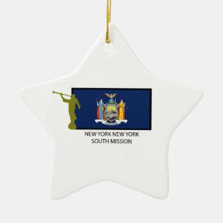 CTR DEL SUR DE LA MISIÓN LDS DE NUEVA YORK NUEVA Y ORNAMENTS PARA ARBOL DE NAVIDAD