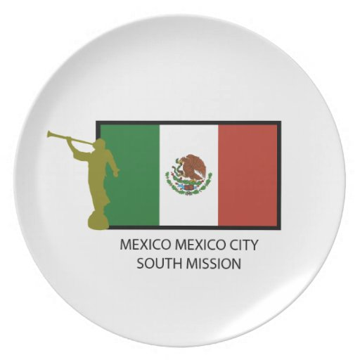 CTR DEL SUR LDS DE LA MISIÓN DE MÉXICO CIUDAD DE M PLATOS PARA FIESTAS