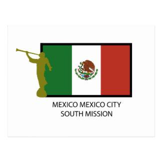 CTR DEL SUR LDS DE LA MISIÓN DE MÉXICO CIUDAD DE M TARJETAS POSTALES