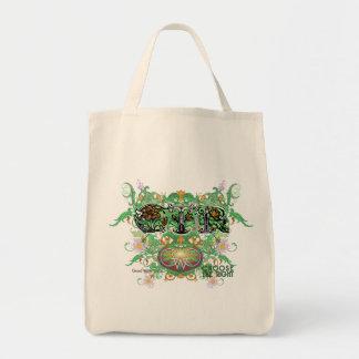 CTR Grocery Tote Flourish Style -F CC04