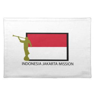 CTR LDS DE LA MISIÓN DE INDONESIA JAKARTA MANTEL