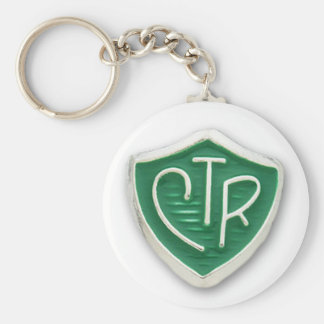 CTR Mormon Choose the Right Keychain
