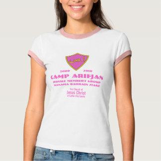 CTR Shield Arabic Pink, Camp Arifjan, Service M... T-Shirt
