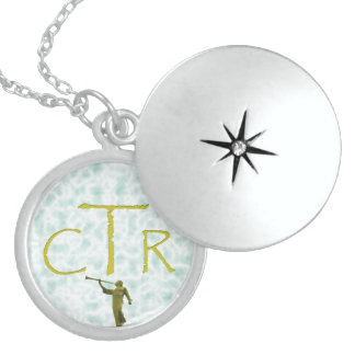 CTR with angel Moroni Pendant
