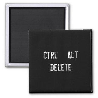 Ctrl + Alt + Cancelación Imán De Frigorifico