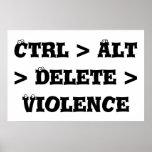 Ctrl > Alt > cancelación > violencia - matón anti