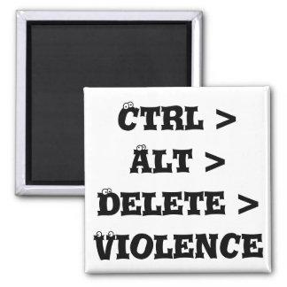 Ctrl > Alt > cancelación > violencia - matón anti Imanes Para Frigoríficos