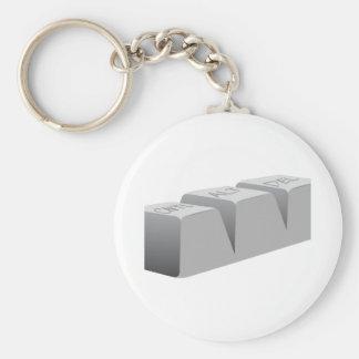 Ctrl Alt Del Keychains
