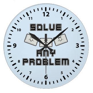 Ctrl Alt Del Large Clock