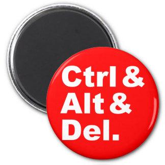 Ctrl & Alt & Del Magnet