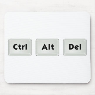 Ctrl Alt Del Mouse Pad