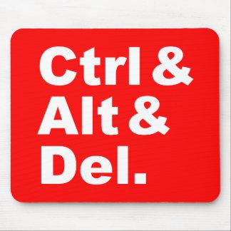 Ctrl & Alt & Del Mousepad