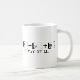 CTRL+ALT+DEL COFFEE MUG