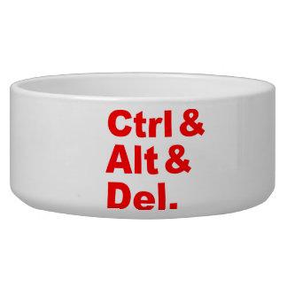 Ctrl Alt Del Pet Bowl