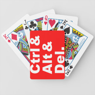 Ctrl & Alt & Del Playing Cards