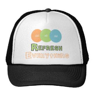ctrl alt del Refresh Everything Trucker Hat