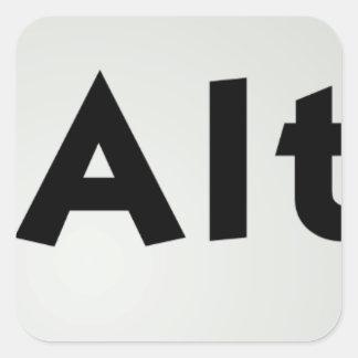 Ctrl Alt Del Square Sticker