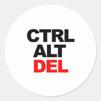CTRL ALT DEL STICKER
