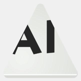 Ctrl Alt Del Triangle Sticker