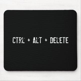 Ctrl + Alt + Delete Mouse Pad
