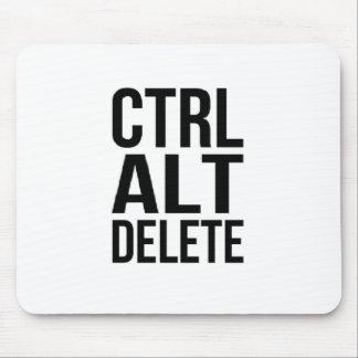 Ctrl+Alt+Delete Mouse Pad