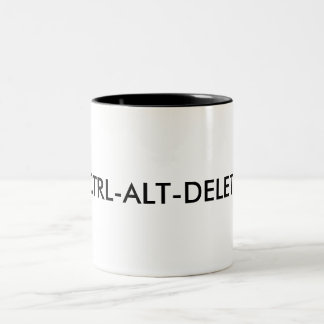 CTRL-ALT-DELETE Mug