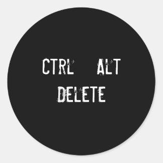 Ctrl + Alt + Delete Stickers