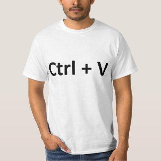 Ctrl C Ctrl V Copy Paste Twins T-Shirt