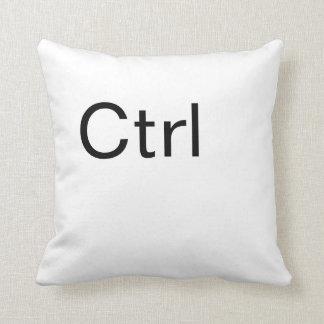 Ctrl , Computer Control Key Throw pillow