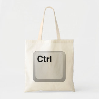 Ctrl Computer Key Canvas Bags