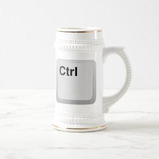 Ctrl Computer Key Coffee Mugs