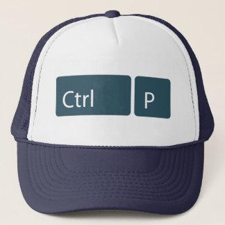 Ctrl P (Print) Trucker Hat