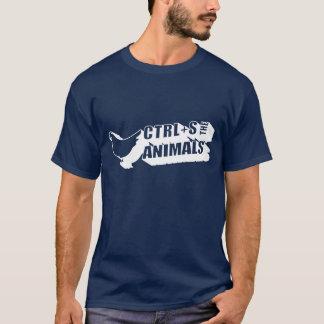 CTRL+S The Animals T-Shirt