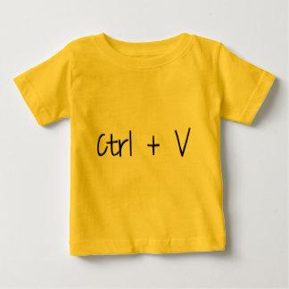 Ctrl + V Baby T-Shirt