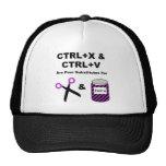 CTRL+X & CTRL+V vs. Scissors & Paste Hats