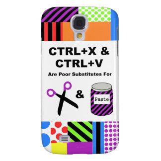 CTRL+X & CTRL+V vs. Scissors & Paste Samsung Galaxy S4 Case