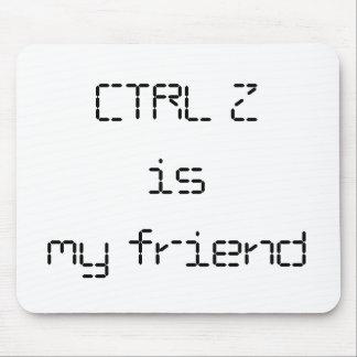 CTRL Z Mousepad