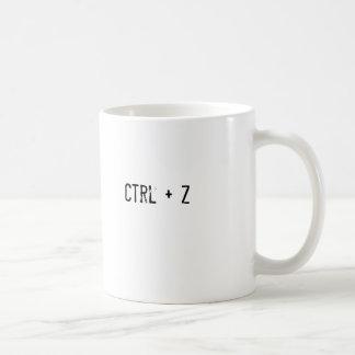 Ctrl + Z Coffee Mugs