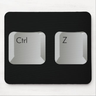 Ctrl Z pad Mouse Pad